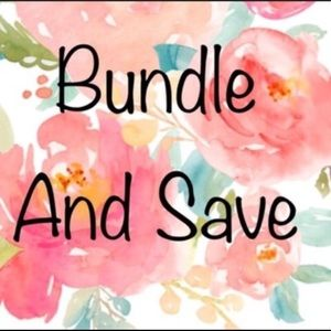 Other - Bundle 3 or more items and get 10% off!! 🙂